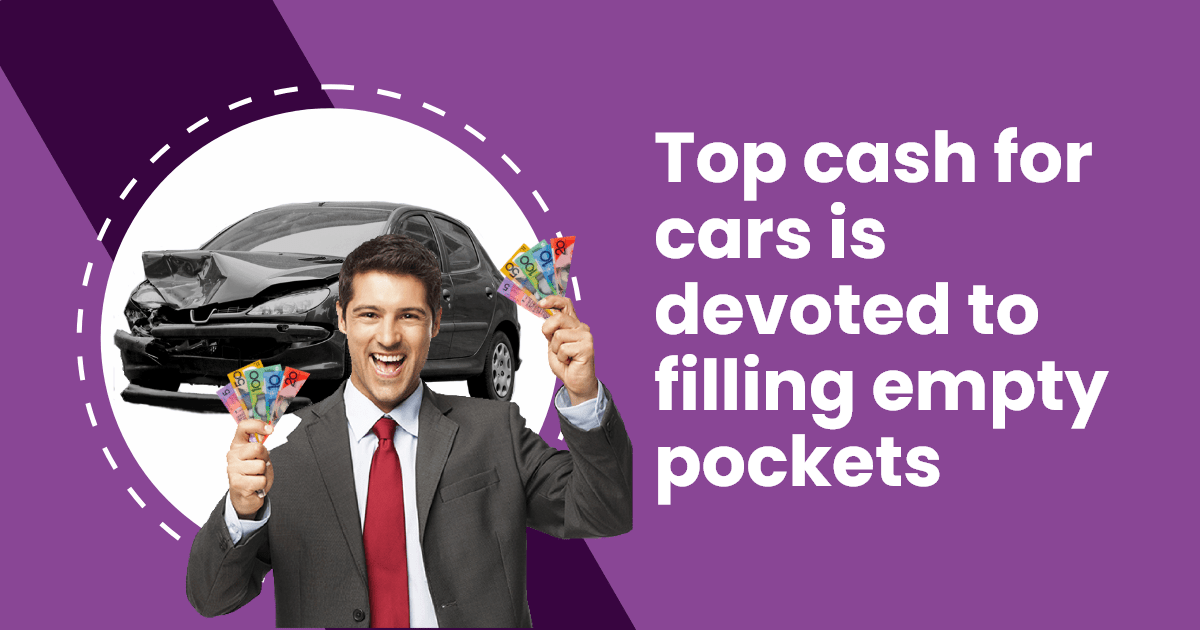 Top cash for cars is devoted to filling empty pockets